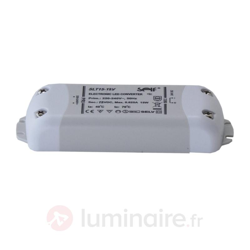 Transformateur LED 12 VDC - Transformateurs LED