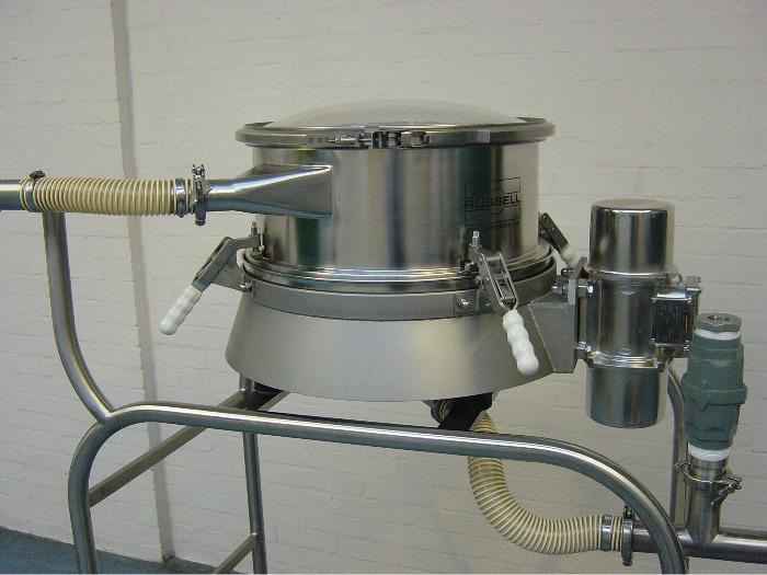 Russell Compact Airswept Sieve™ - Vacuum Conveying Sieve System
