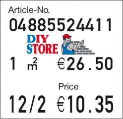 Labels - Plastic adhesive labels