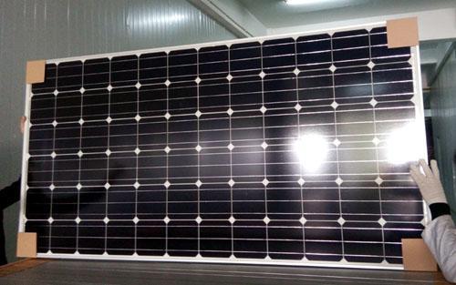 Panel solar monocristalino 330w - energía limpia, 25 años de vida útil