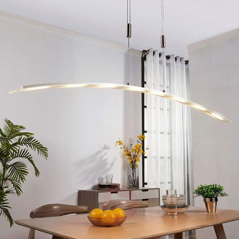 Manon - height-adjustable LED pendant lamp