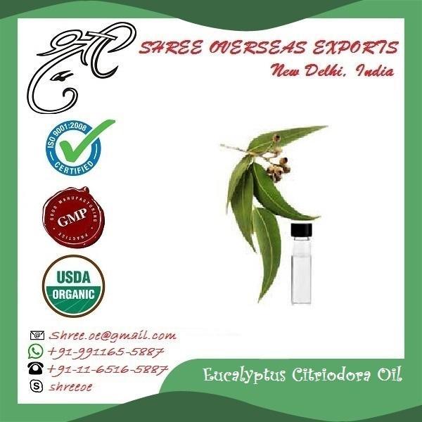 Organic Eucalyptus Citriodora Oil  - USDA Organic