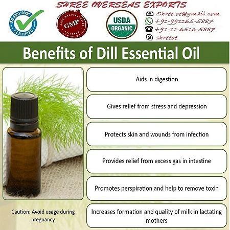 Organic Dill Seed Oil - USDA Organic