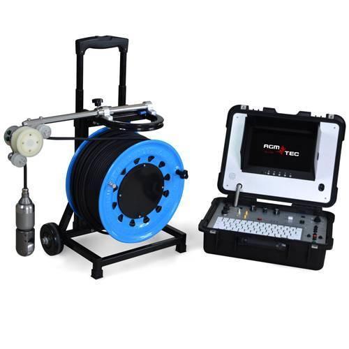 Camera inspection de puits et forages - Camera inspection verticale de puits de forage