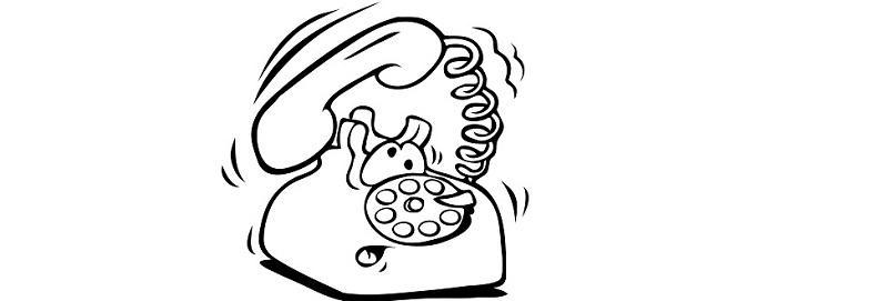 Réception d'appels commerciale