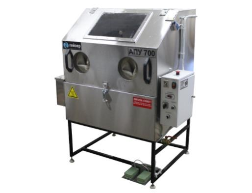 Industrial wash with manual adjustment  - Automatic washing unit
