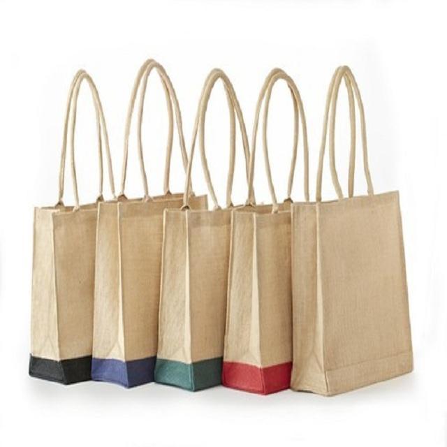 bolso de compras de yute