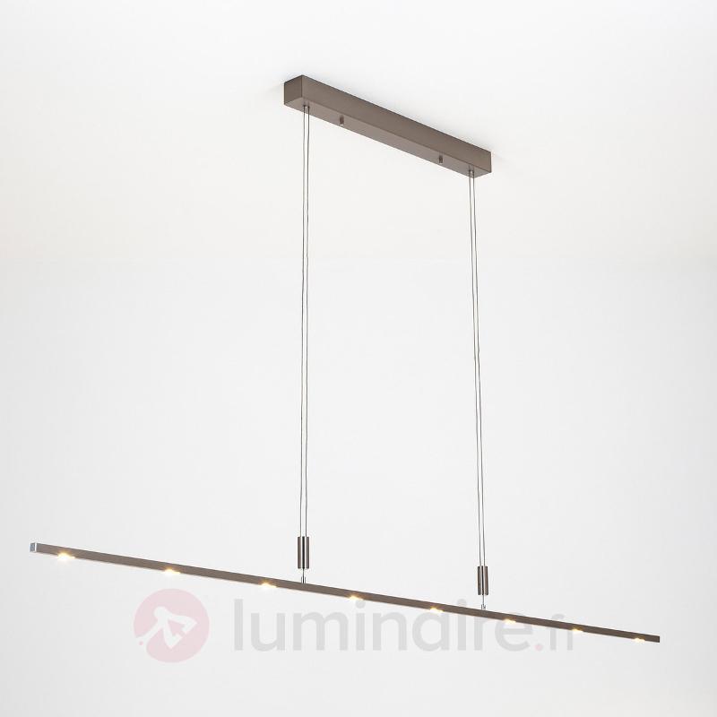 Suspension LED Tolu fine à int variable 180 cm - Suspensions LED