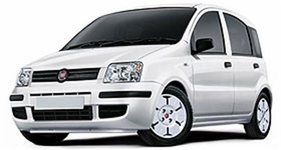 VEHICLE RENTAL FIAT PANDA - All rentals cars come with Air Condition and Radio CD