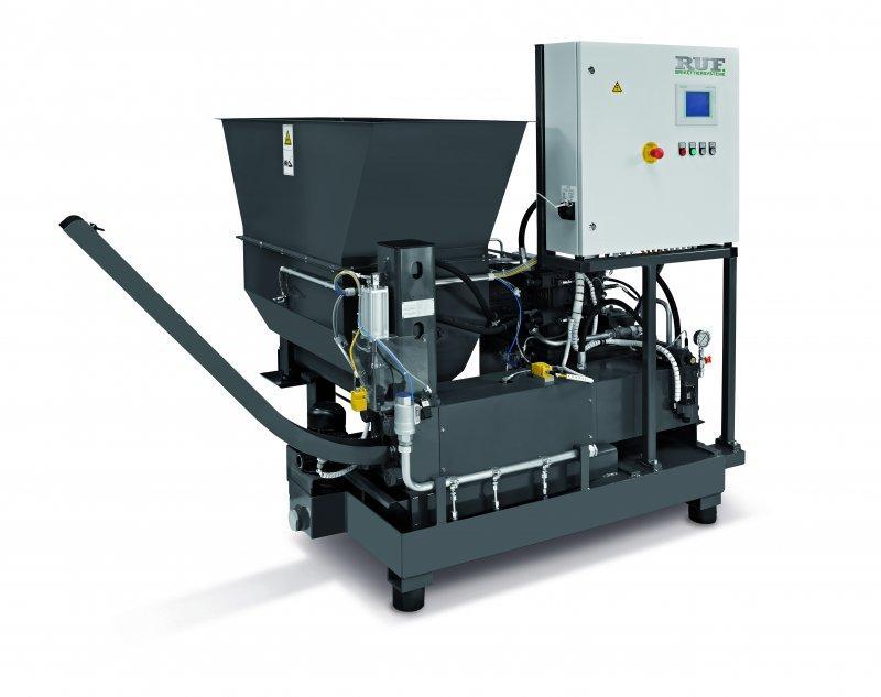 RUF briquette press for grinding sludge / grinding chips - Briquetter for grinding sludge / grinding chips