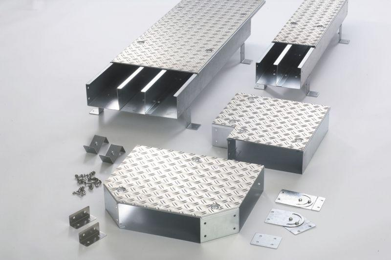 Cable trunking for footfall loading in machining centres - Cable trunking for footfall loading in machining centres