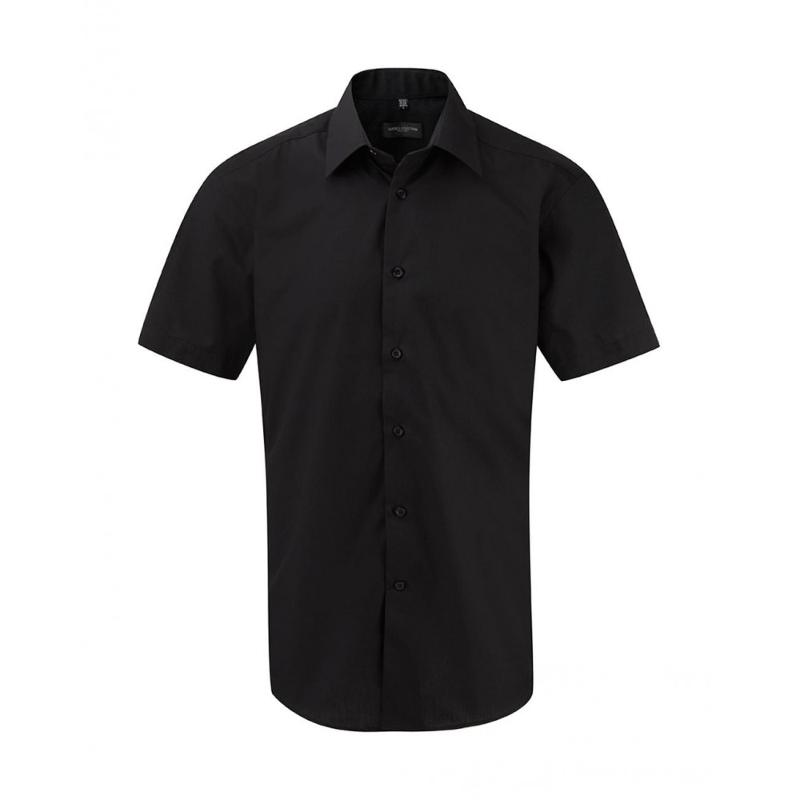 Chemise manches courtes homme S/SL Poplin - Homme