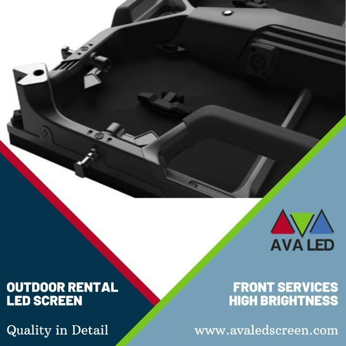 Elite CR Outdoor sorozat - P2.97 - P3.91 - P4.81 Hordozható tok AVA LED kijelzők