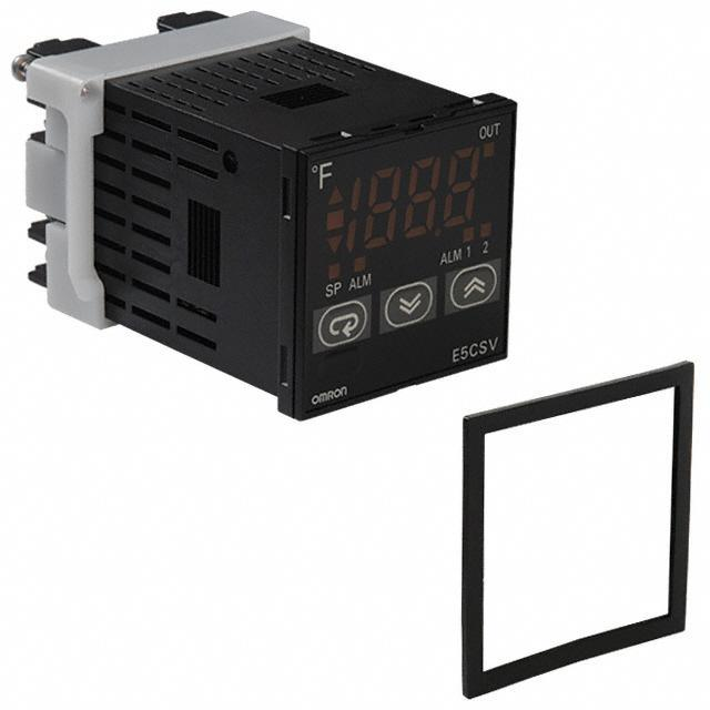 CONTROL TEMP 100-240V PANEL MT - Omron Automation and Safety E5CSV-Q1T-F AC100-240