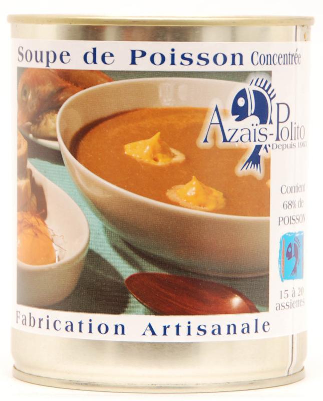 Soupe de Poisson Concentrée 4/4 - Epicerie salée