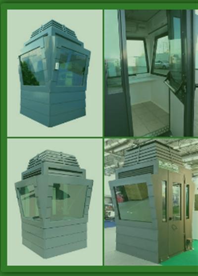 BULLETPROOF CONSTRUCTIONS - Titan Bulletproof Sentry Box