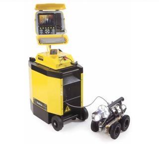 P350 Caméra tractée - Caméra d'inspection de canalisations tractée