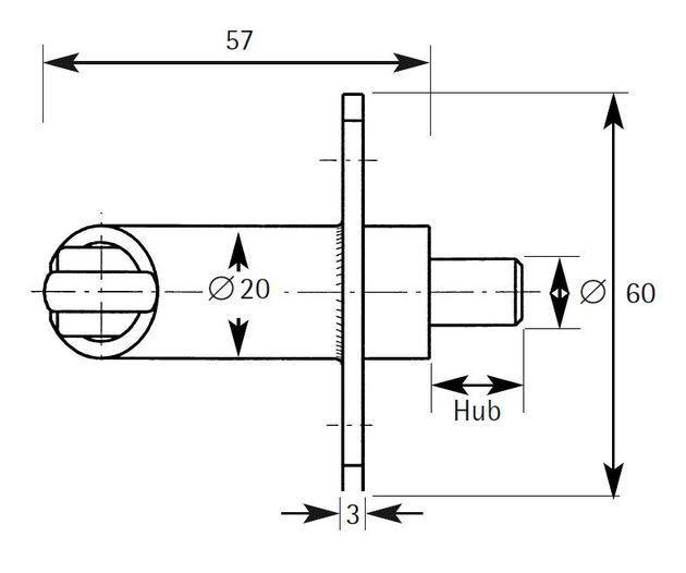 Typ S-WP - S 1514 WP 30x3x60 R/L