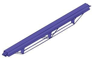 Decking Beams - Swati Lock System