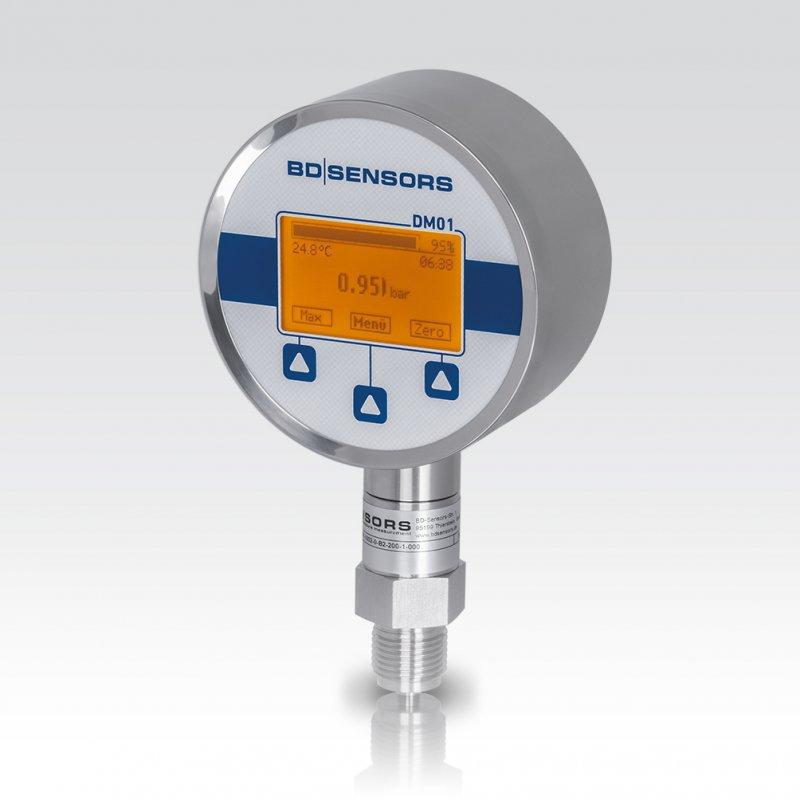 Digital Pressure Gauge DM 01 - digital pressure gauge / electronic / test / precision