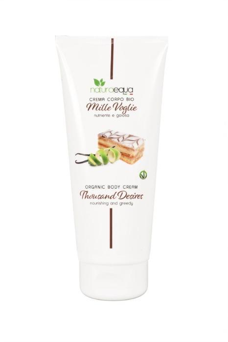 Crema corpo MilleVoglie 200ml - Crema supernutriente e superidratante dalla nota golosa di Limone e Vaniglia