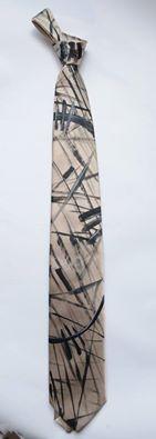 Cravatta 100% seta dipinta a mano