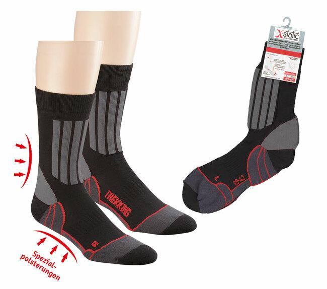 "6979 - Sport and Trekking Socks ""X-Static®""  - Sports and trekking socks with X-Static, the antimicrobial and fungistatic fibre"