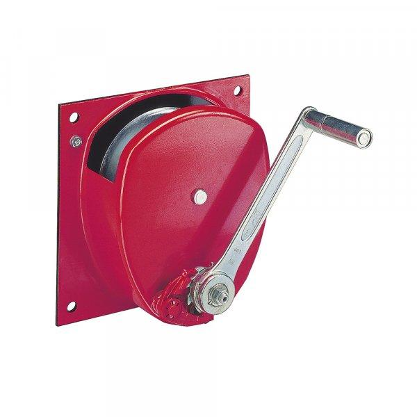 verricello a fune metallica a mano - Verricelli manuali a fune per montaggio a parete e console da 50 kg a 3000 kg