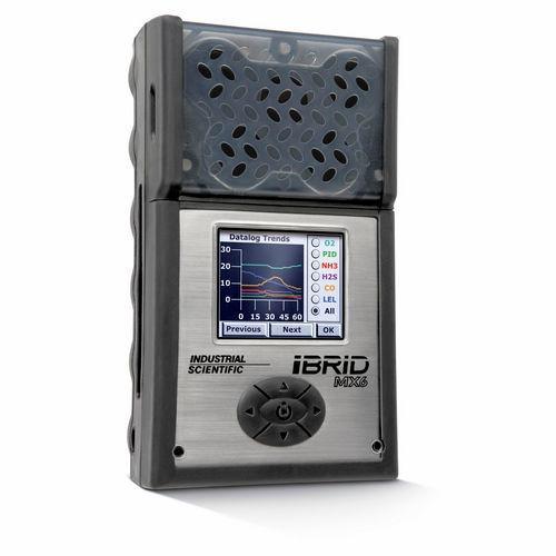 MX6 iBrid® - Prepárese para observar los niveles peligrosos de gases como nunca antes