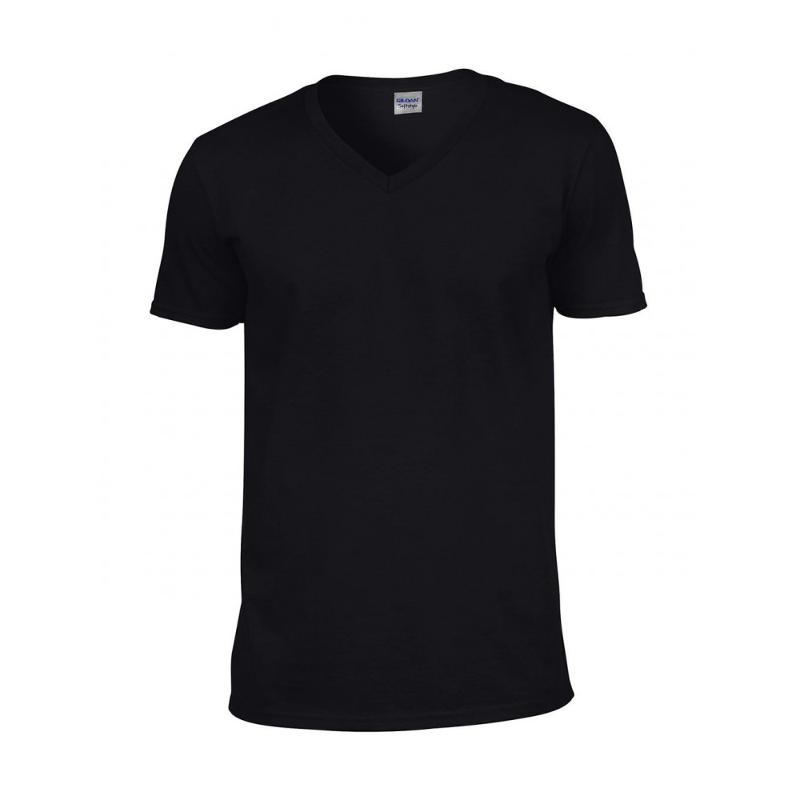 Tee-shirt homme col V Softstyle® - Manches courtes