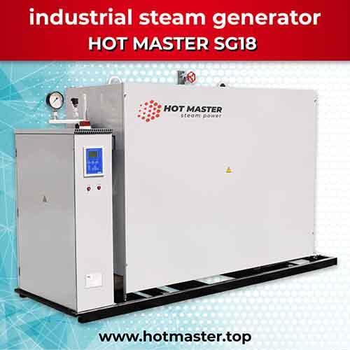 Промышленный электрический парогенератор HOT MASTER SG18 - Промышленный электрический парогенератор HOT MASTER SG18