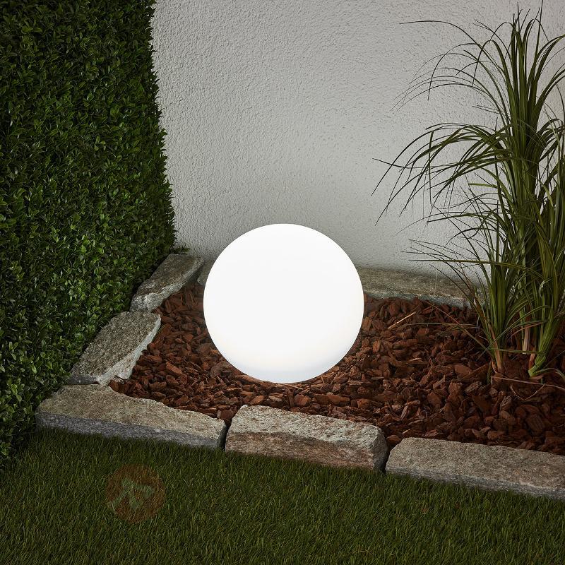 Sphère solaire Lago à LED avec piquet - Toutes les lampes solaires