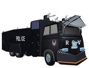 Vehicles Heavy Vehicles - 12T WATER CANNON RIOT CONTROL VEHICLE