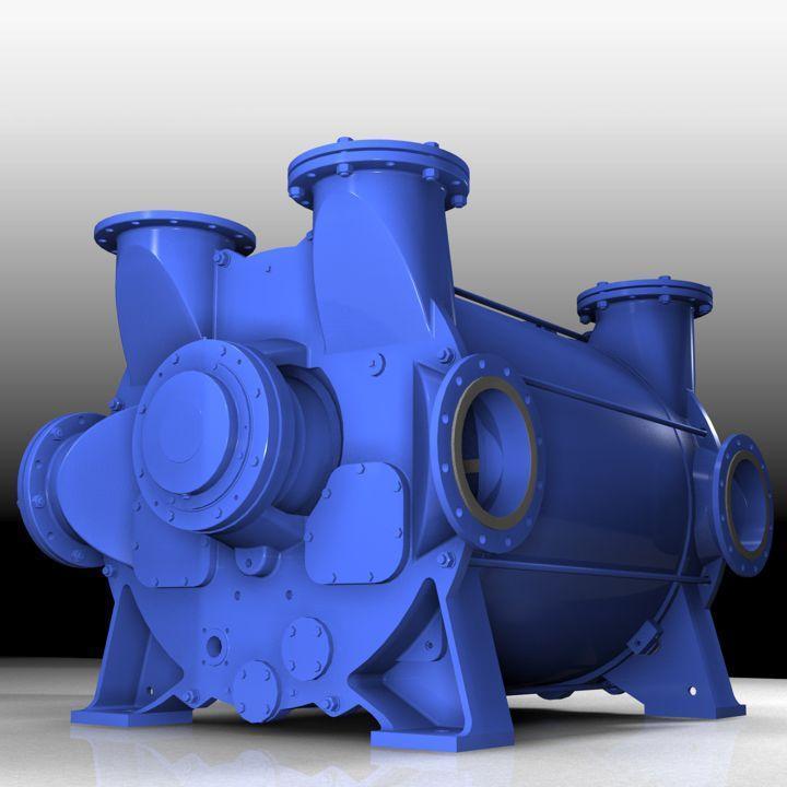 Classic Liquid Ring Vacuum Pumps and Compressors - 2BE3 & 2BE4 Vacuum Pumps