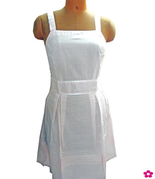 Robe courte en coton -