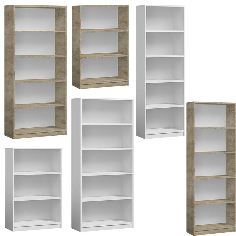 Regały półki na książki - Regały wolnostojące w różnych rozmiarach i kolorach