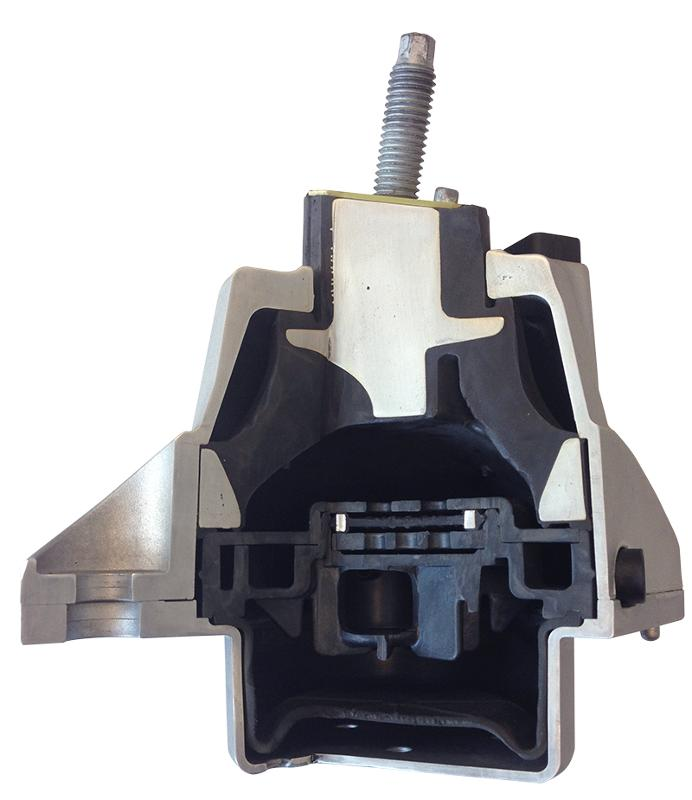 Anti-Vibration Products - Bi-State Vacuum or Electric Switchable Hydromounts