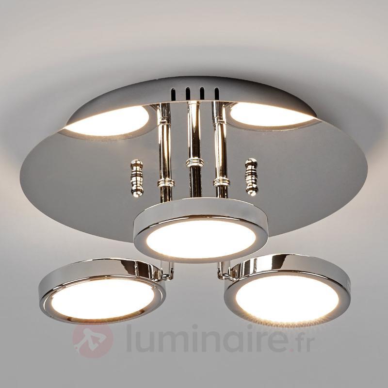 Plafonnier LED Betika à 3 lampes - Plafonniers LED