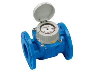 Woltman bulk meters dry dial for cold water up to 30°C...