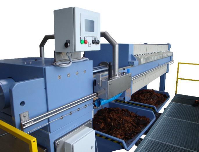BC-series - Mechanised chamber filter presses