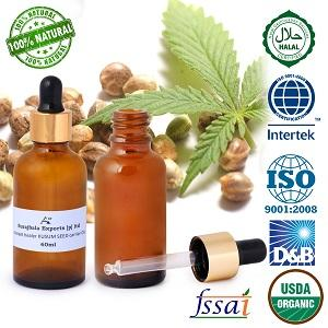Ancient healer KUSUM SEED OIL(Macassar Oil) 60ml    - KUSUM SEED carrier oil Macassar Oil essential oil