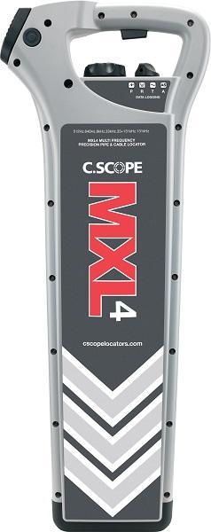 Прецизионный локатор трассоискателя MXL4 - Используется с многочастотным генератором сигналов MXT4