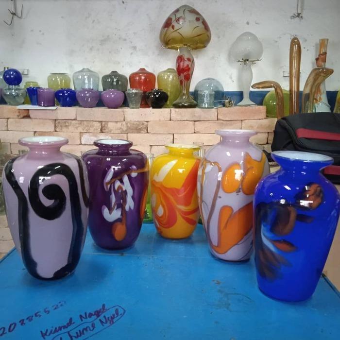 vaza decor  - vaze sticla