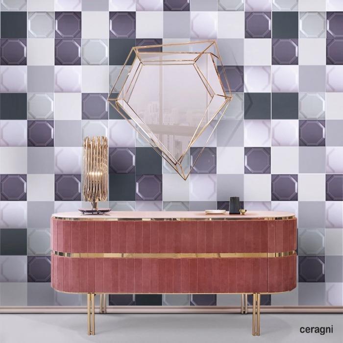 OCTAGON   15x15 cm - Azulejos em Cerâmica