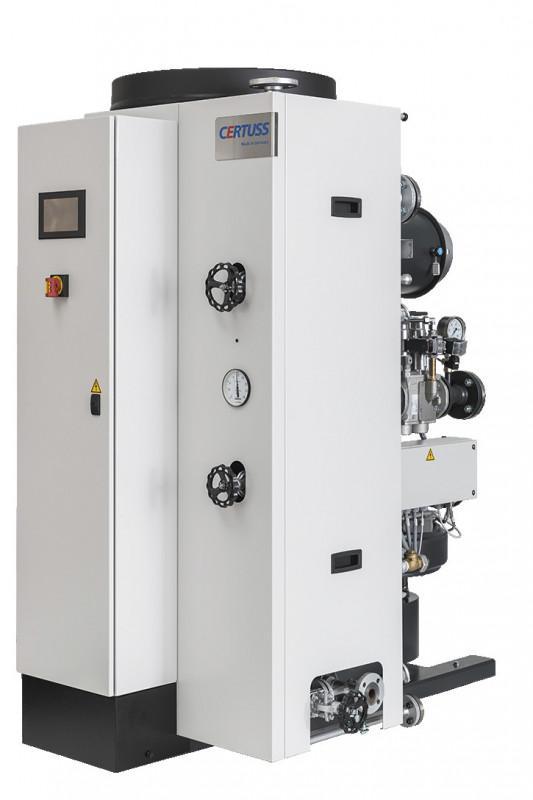Chaudières à vapeur - Junior 80 - 400 TC - générateurs de vapeur instantanée à régulation électronique complètement équipés