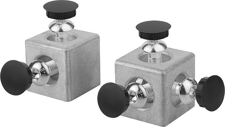 Cube de fixation type B - Raccords
