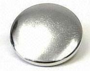 Calotte renforcée 15mm laiton nickelé - Pressions
