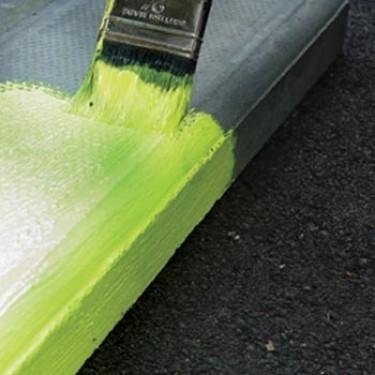 Peinture marquage au sol extérieure - Peinture Fluorescente