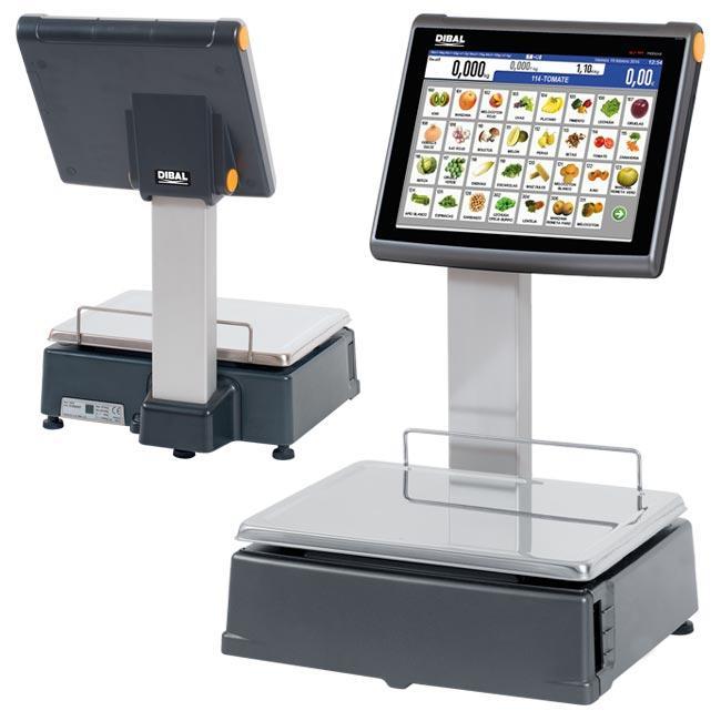 Serie D-900 - Balanzas con impresora de tickets/o etiquetas