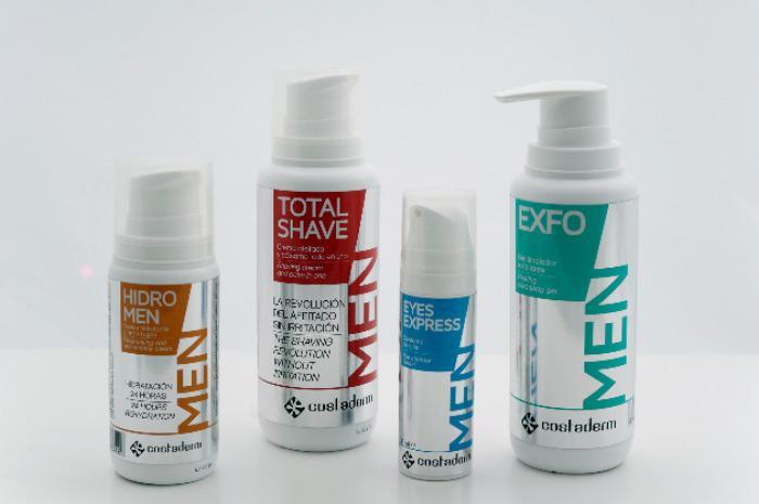 Costaderm Hombre - Limpieza facial, afeitado, hidratación y contorno de ojos